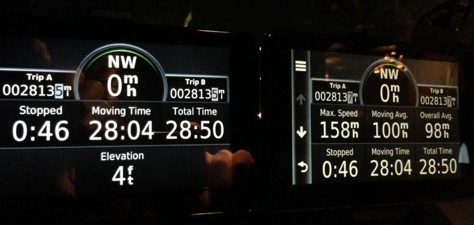 Trio em CL55 cruza os EUA em 29 horas  Ionah