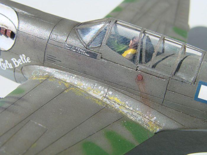 P-40N(rebuild), Hasegawa, 1/72 DSC03747