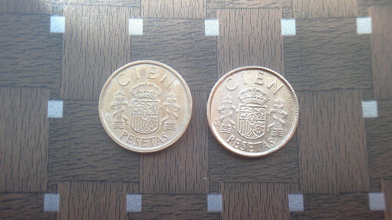 100 pesetas 1986 ¿ cuño muy flojo , color raro y canto casi liso ? 2014_08_01_4296
