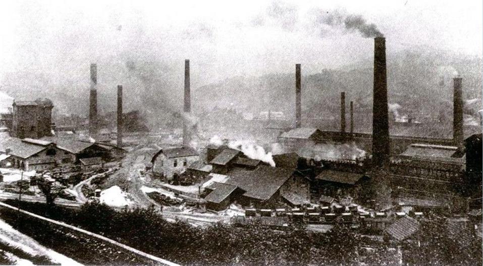 2 Ptas. Fábrica Metalúrgica de La Felguera. Marzo 1937. Anulado La_f_brica_en_los_a_os_20_Foto