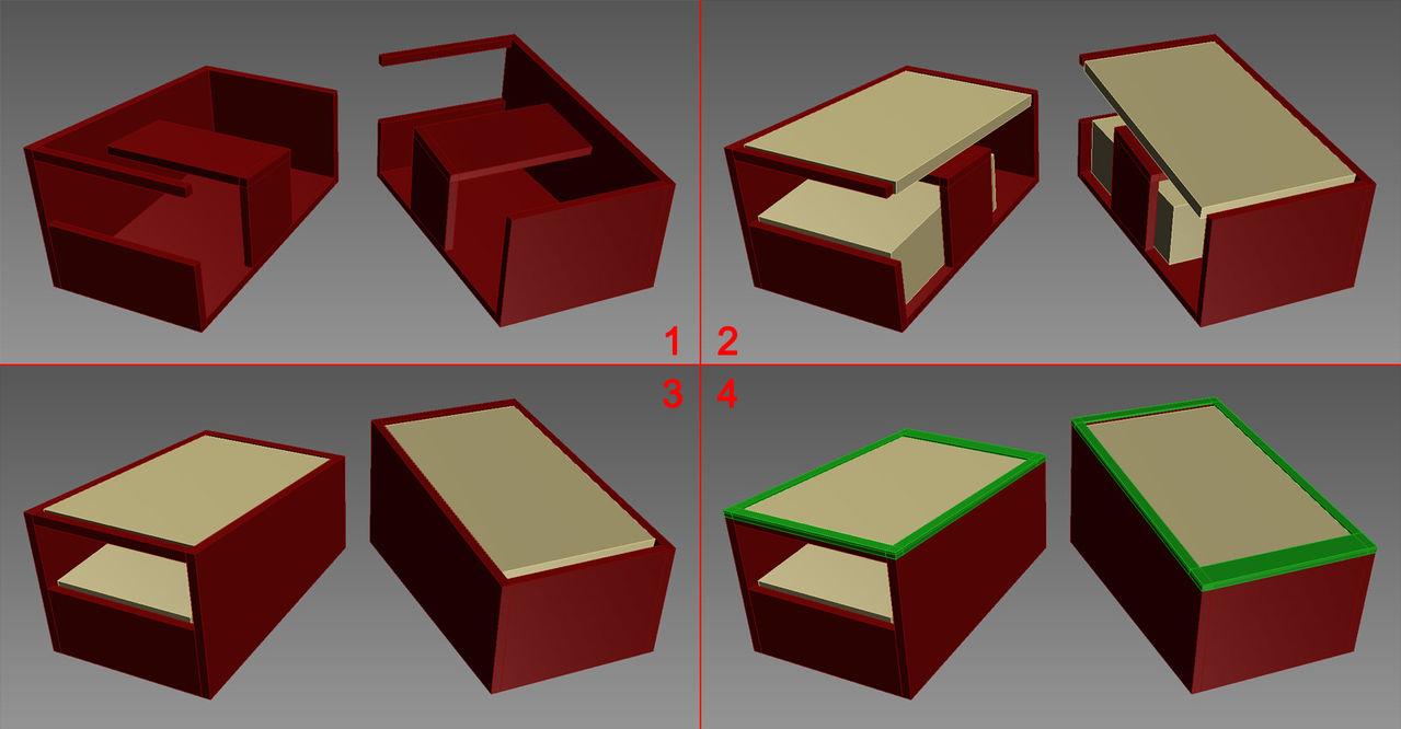 [WIP] Mini pincab 1 écran - petite config / petit budget Caisse
