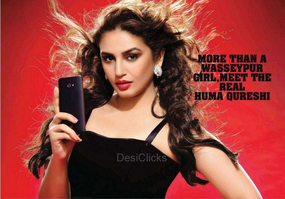 Huma Qureshi mobiel ad