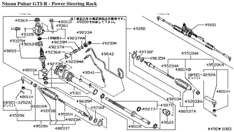 Tie rods Gtir_steering_rack