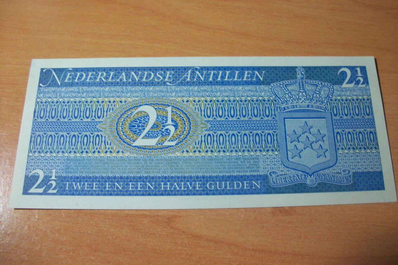 2 1/2 Gulden Antillas Holandesas, 1970 100_7225