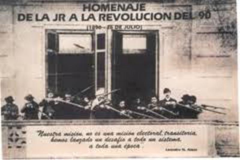 LA MONEDA DEL PRIMER DEFAULT ARGENTINO - 2 CENTAVOS MONEDA NACIONAL AA_LA_REVOLUCION_DEL_90