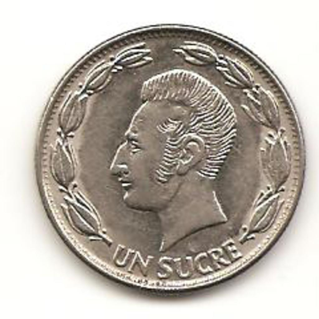 1 sucre de 1980 Ecuador Image