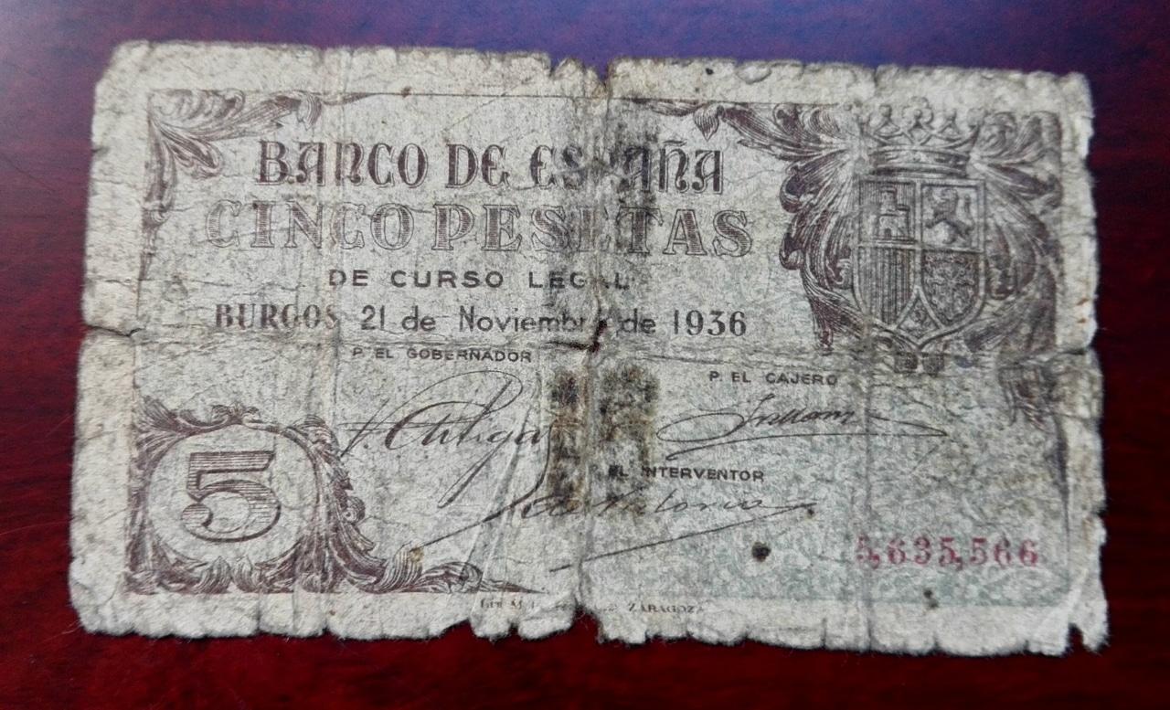 VI Concurso. Billetes y papel moneda 5_pts_burgos3