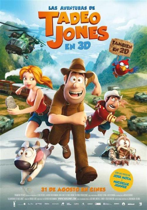 """Cine """"0 a 10"""" (puntuación a la última película vista, críticas, etc.) - Página 5 Tadeo_jones"""