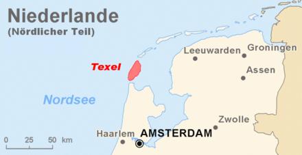 Atlantikwall Texel 440px_Karte_Nord_Niederlande_Texel_Marked