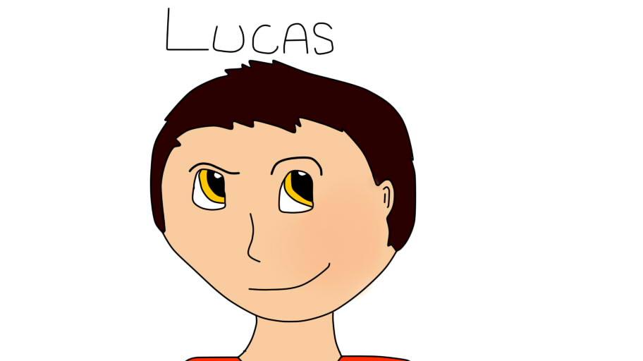 dibujos mios xD Lucas