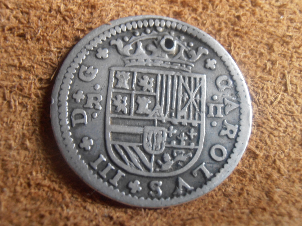 2 Reales Carlos III El Pretendiente 1708 P9120024