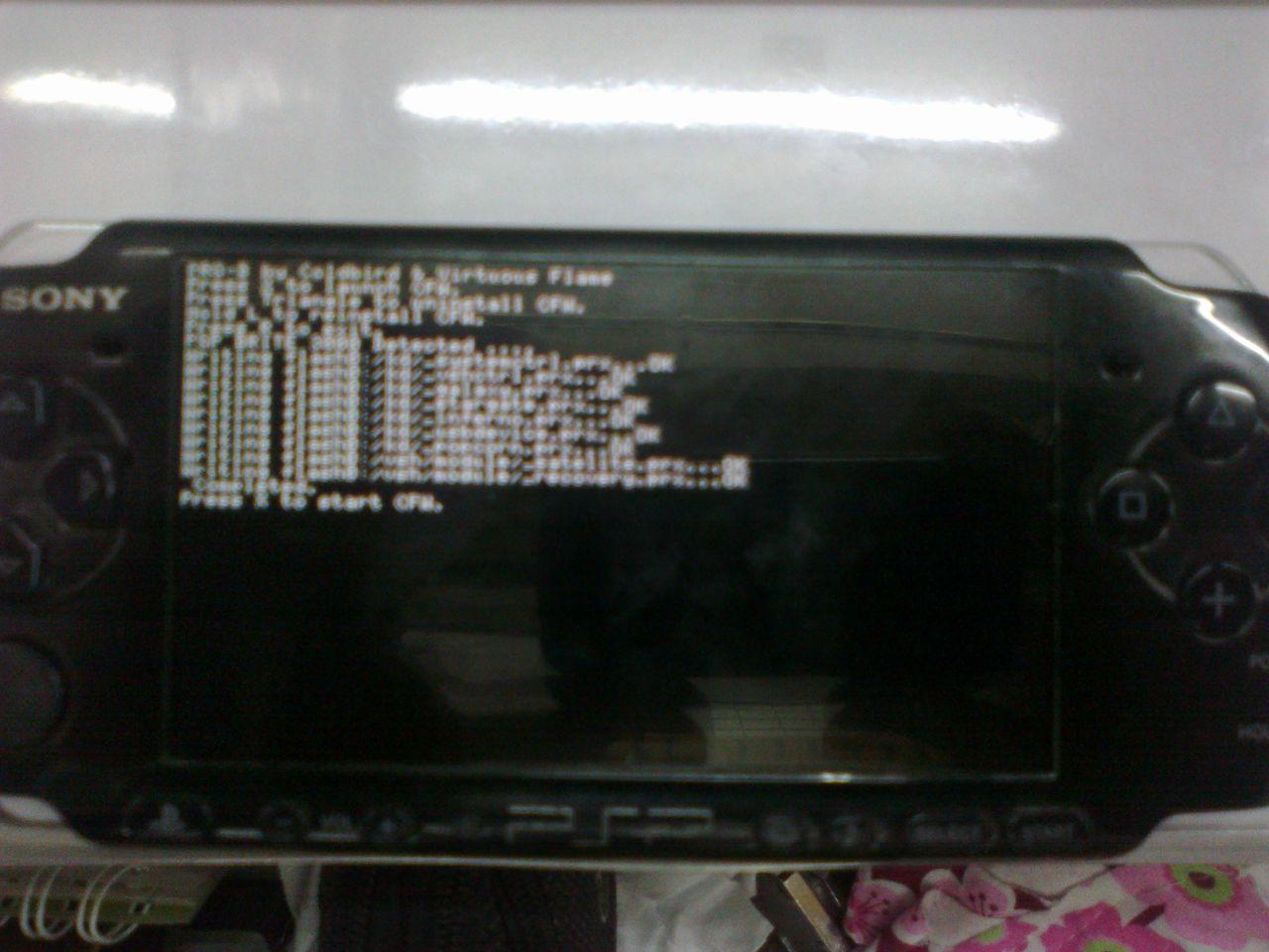 PSP slim model 3000 modify done 100220101255
