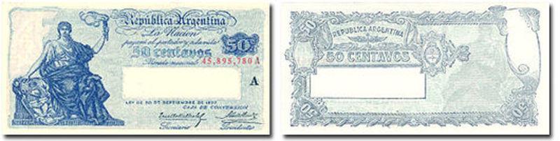 1 Peso Argentina, 1947 ANV_50_CTVS_1903