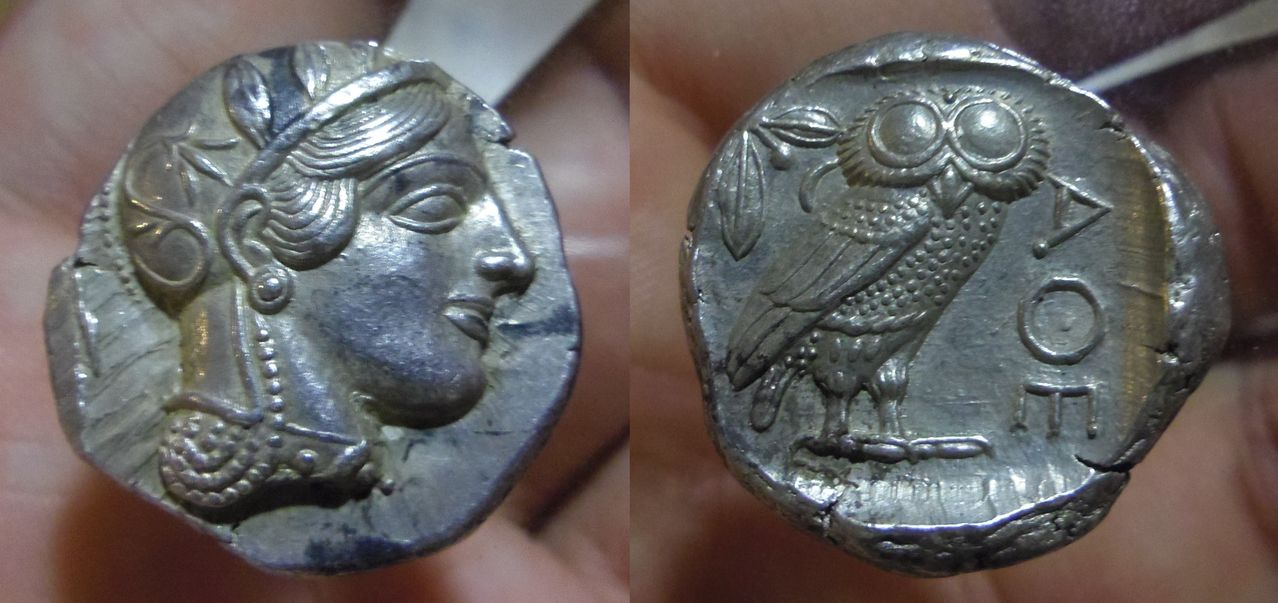 Tetradracma ático. Atenas. 449-413 a.C. IMGP6959