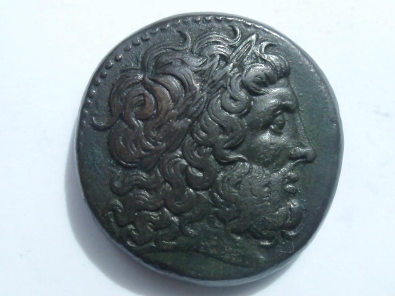 Bronce Ptolomeo II Filadelfos. ΠTOΛEMAIOY ΒΑΣΙΛΕΩΣ Ptolomeo_II_001