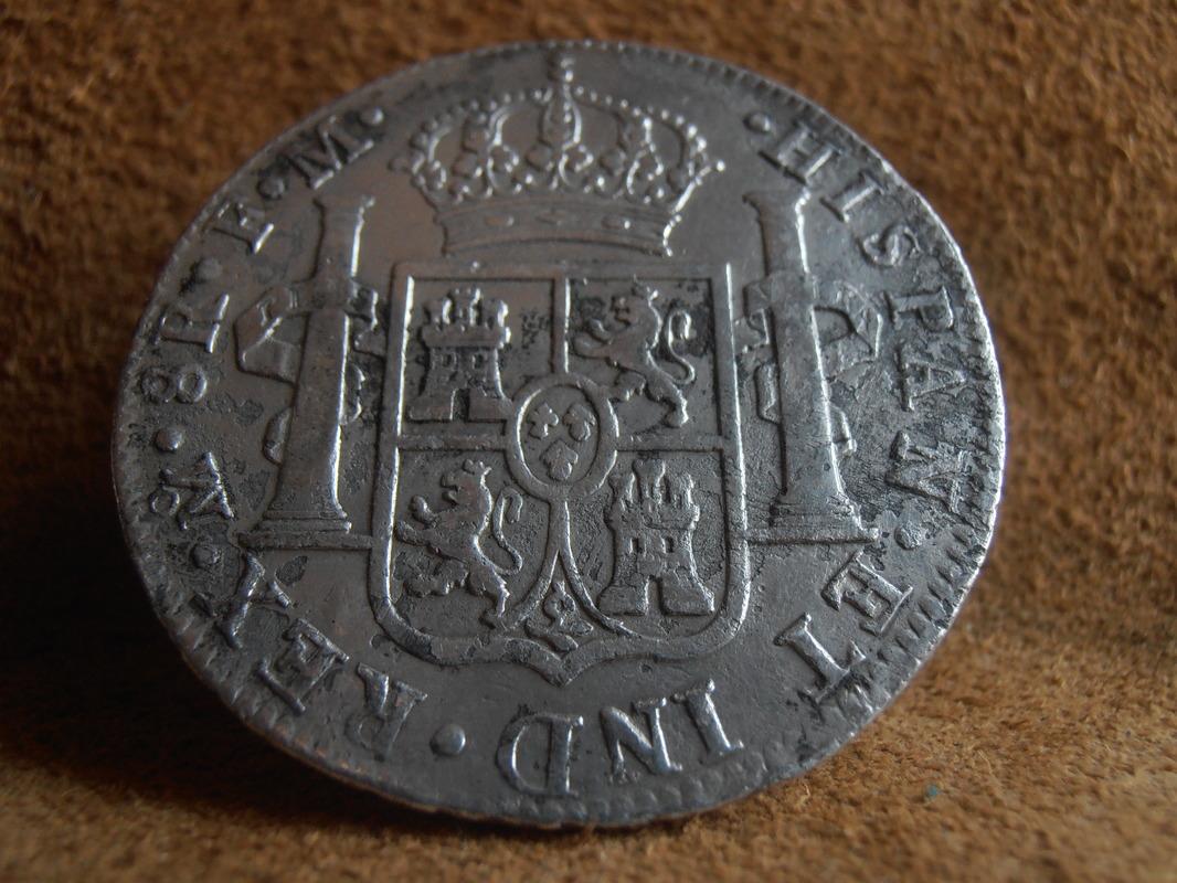 8 Reales 1791. Carlos IIII. México. FM P6240005