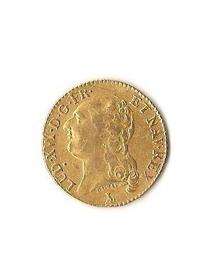 PRECIOSA MONEDA de oro de Luis XVI 1786.Muy bonita. Imagen_147