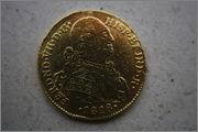Identificar extraña moneda fernando VII 1818 pero 4 escudos de N. Reino IMG_6450