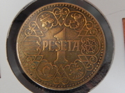 1 peseta 1944. Estado Español RSCN2438