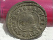 16 maravedís 1664. Felipe IV, Trujillo SAM_3409