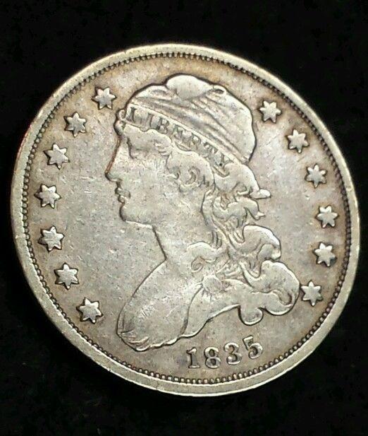 Tipo de moneda Estados Unidos 1835c