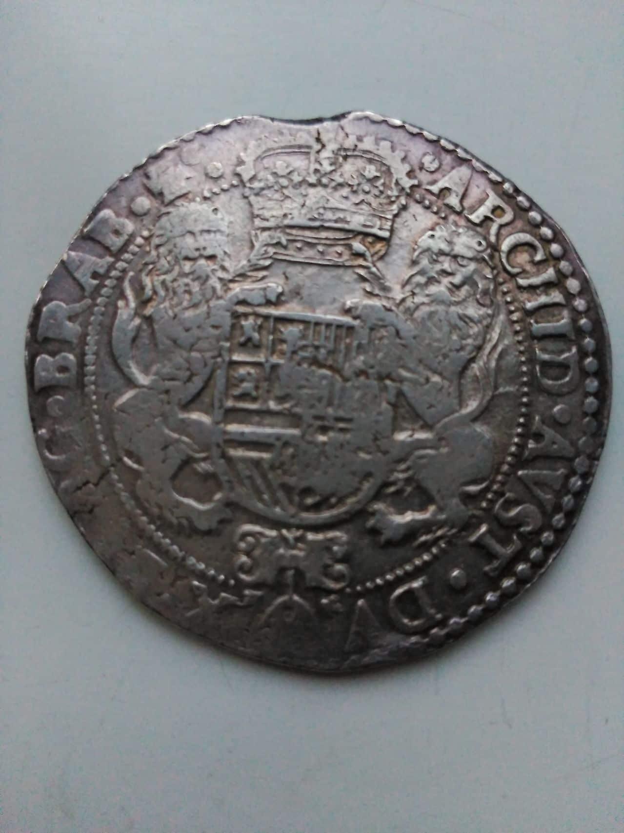 ducaton de Felipe IV de Amberes 1650 Image