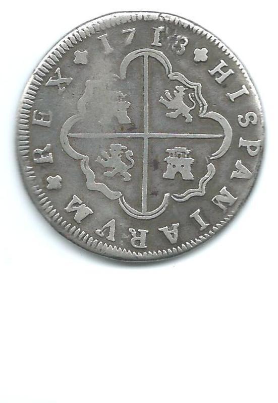8 reales de 1718. Felipe V, ceca de Sevilla Image