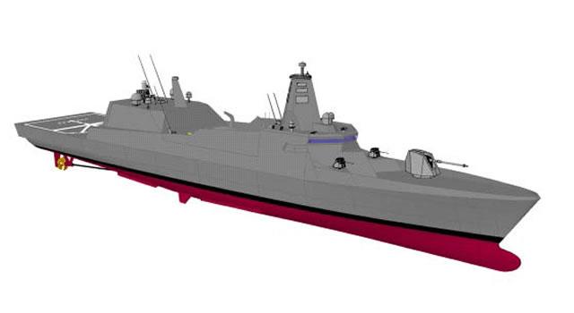 Inicia construccion de Diseño aceptado - 30FF(DISEÑO FRAGATA) De la Naval Nipona- Mitsubishi Heavy Industries - inicio de fabricacion en 2018 Mitsubishi_Heavy_Industries_JMSDF_3000_t_Compact