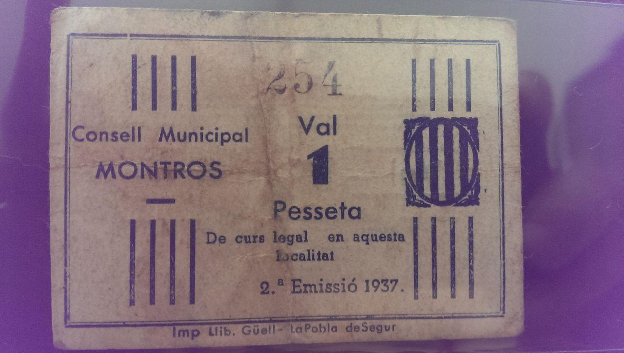 1 Peseta Montros, 1937 (MONT-ROS - 2ª Emisión) IMAG0355