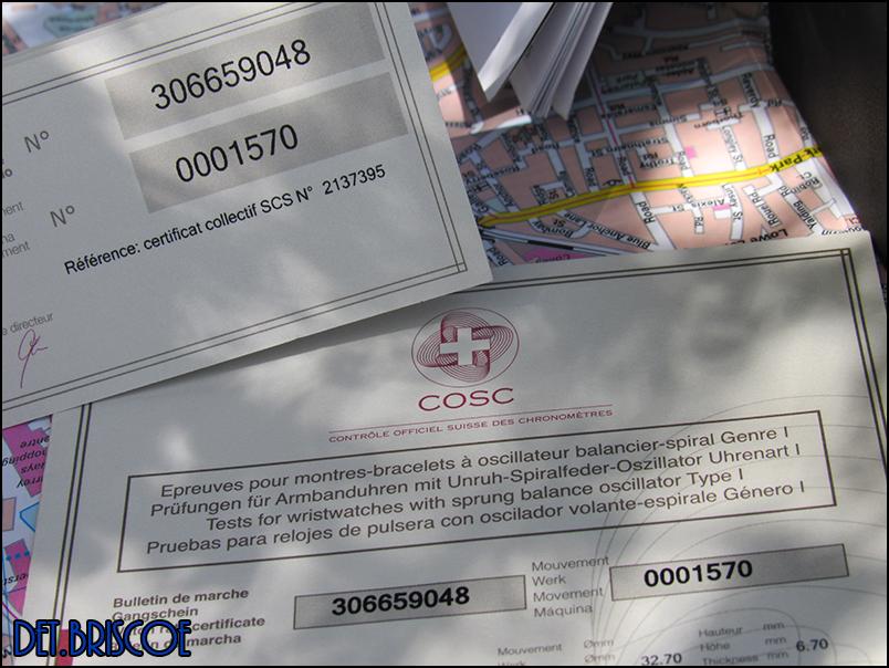 Christopher Ward C60 Trident COSC 600 - 5 Jours de réserve de marche Image