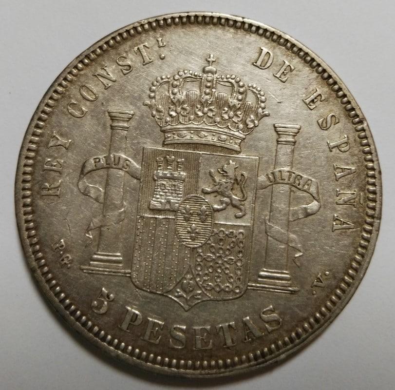 5 Pesetas 1894. Alfonso XIII 5pesetas1894_b