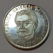 50 pesos Uruguay 1971 plata Enrique Rodo IMG_1320
