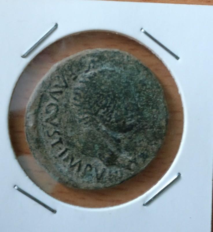 As de Segóbriga. SEGO / BRIGA dentro de corona. Época de Tiberio. IMG_20170330_153752