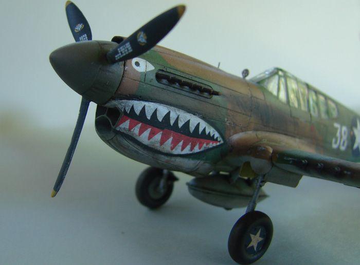P-40E, Hobby Boss, 1/72 DSC03373