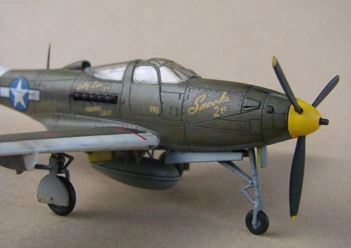 P-39Q Airacobra, 1/72, Academy (rebuild) DSC02942