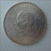 10 Pesos 1957 Mexico Centenario  Image