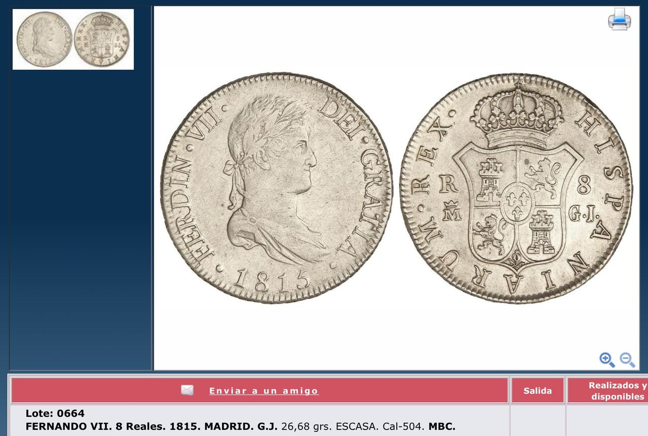 8 reales 1815 Fernando VII Madrid - Página 2 Image