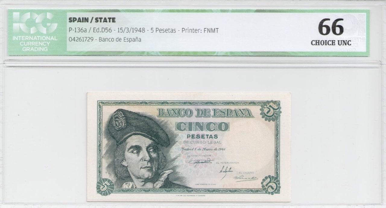 Colección de billetes españoles, sin serie o serie A de Sefcor - Página 2 5_del_48_anverso