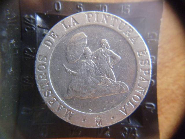 I aniversario numismario: 200 pesetas Maestros de la pintura 1994 P1100951