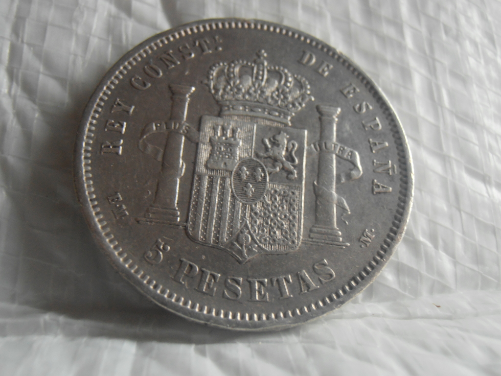 5 Pesetas 1879. Alfonso XII P9090012