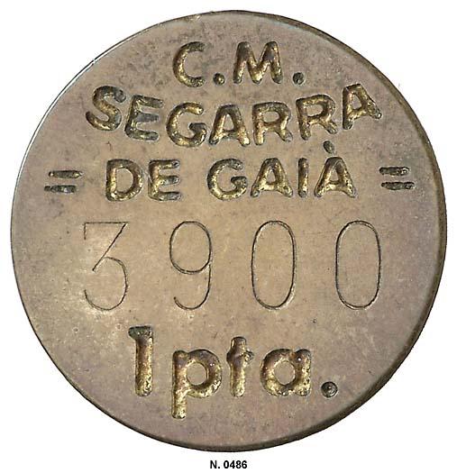 Guerra Civil. Serie completa de Segarra de Gaià incluyendo la de aluminio inédita. SF. - Página 2 0486g
