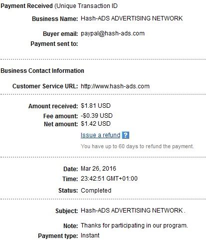 Hash-ads - hashads.com Hashadspayment