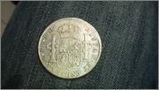 8 Reales 1809 Fernando VII Mexico ( busto imaginario ) 20150429_135757