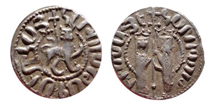 Tram de Hethum I (1226-1270) del reino armenio de Cilicia 0_0_0_tram_hetoum