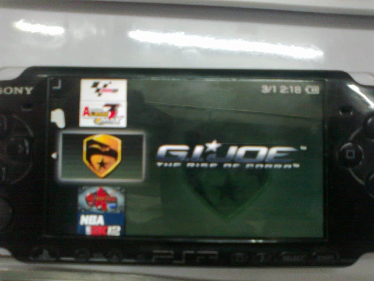 PSP slim model 3000 modify done 100220101257