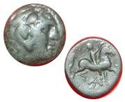 AE18 de Perseo de Macedonia. Image