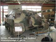 """Немецкая тяжелая САУ  """"JagdPanther""""  Ausf G, SdKfz 173, Deutsches Panzermuseum, Munster Jagdpanther_Munster_124"""