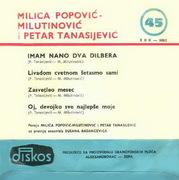 Milica Popovic - Diskografija 1966_b