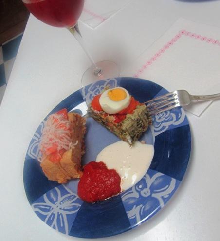 Budín (de verduras y de pescado) Budinvino