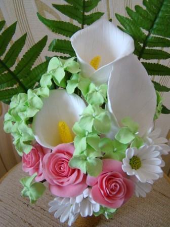 Цветы ручной работы из полимерной глины 3cd2ca2ee818
